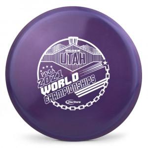 Gateway Diamond Element 2021 PDGA Pro Worlds Fundraiser Stamp