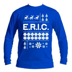 E.R.I.C. Ugly Sweater Long Sleeve Jersey