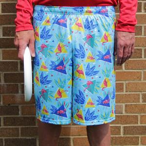 80's Flamingo Full Sub Shorts