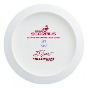Millennium Discs Bottom Stamped Sirius Scorpius