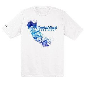 Central Coast Disc Golf Art Logo Dry Fit