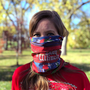 Performance Dry Fit Ugly Sweater Play Ultimate Facemask