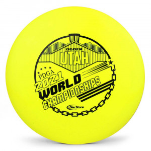 Innova Star Wraith 2021 PDGA Pro Worlds Fundraiser Stamp