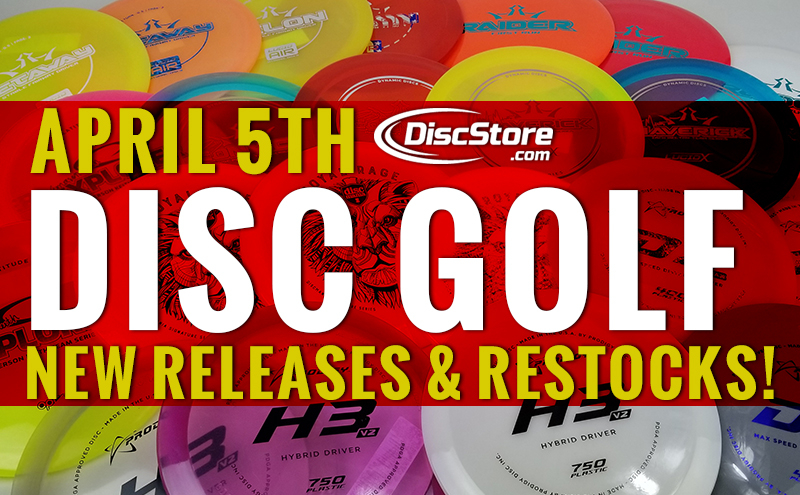 April New Releases and Restocks