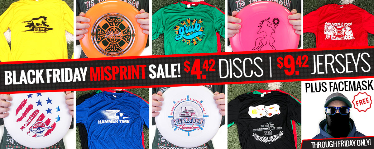 Black Friday Misprint Sale