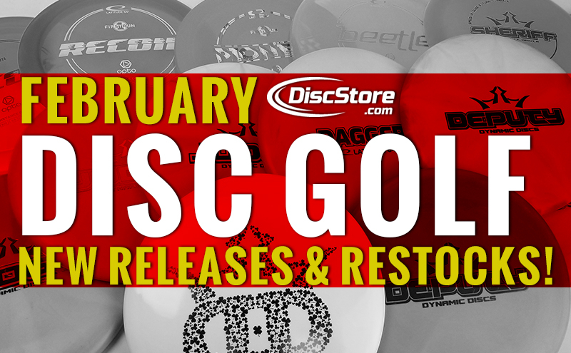 New Disc Golf Releases