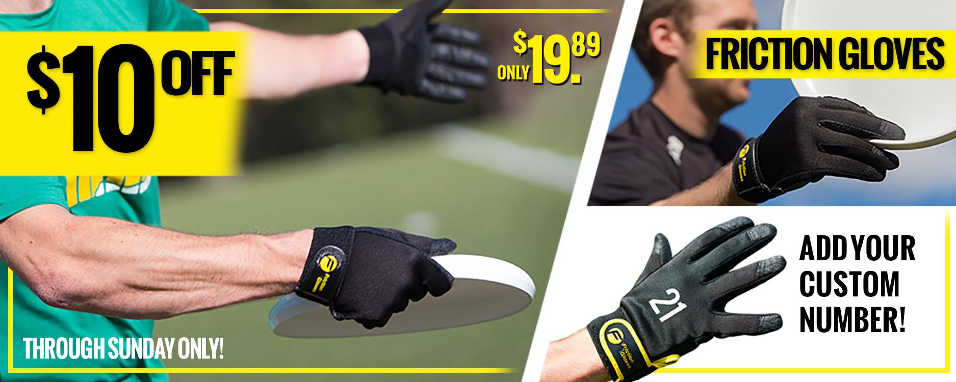 Friction Glove Sale