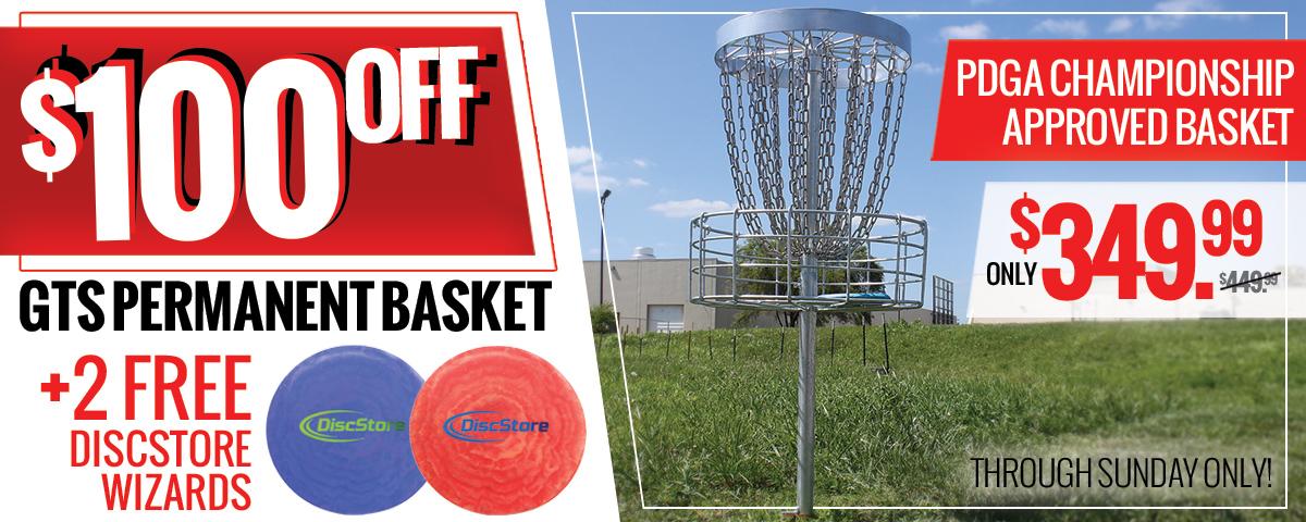 GTS Permanent Basket Sale