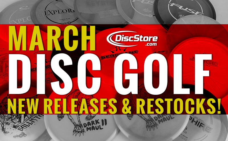 March New Releases & Restocks