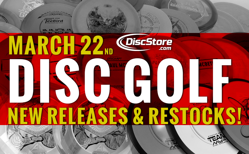 March 22nd Restocks and New Releases