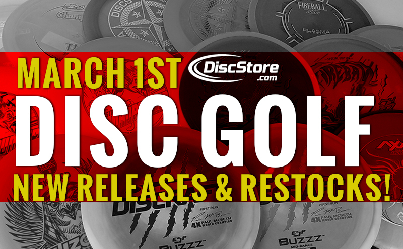 New Disc Golf Releases March