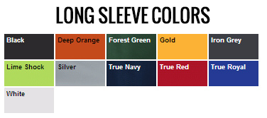 Long Sleeve Colors