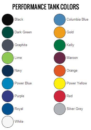 Tank Colors